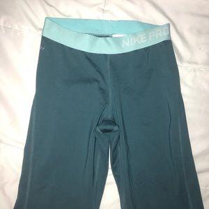 Nike blue Dri fit leggings small